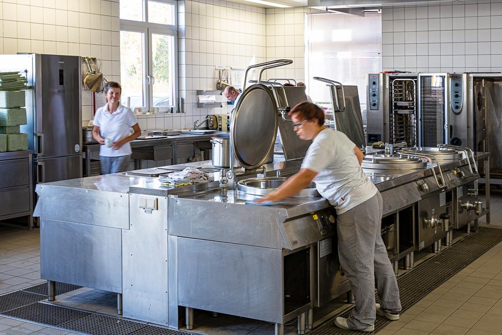 Küche Integrationprojekt Erlenwald