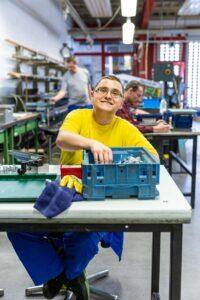 Reinsdorf Behindertenwerkstatt arbeiten